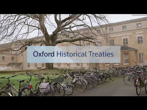 Oxford Historical Treaties