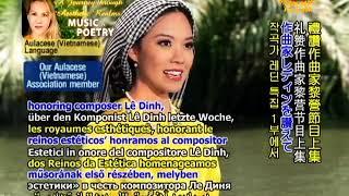 Thơ Nhạc Hồn Nhạc Do Thiên Phú Vinh danh nhạc sĩ Lê Dinh  ( P. 1 & 2 )