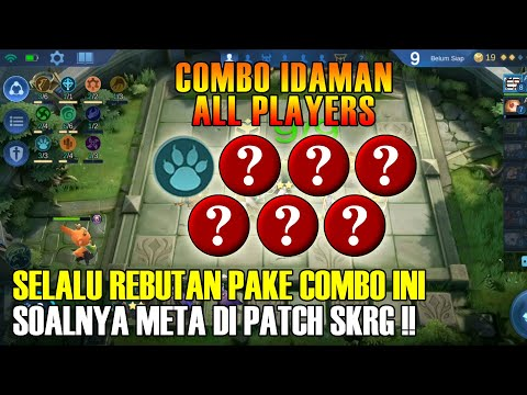 COMBO IDAMAN ALL PLAYER IN THIS PATCH | MAGIC CHESS MOBILE LEGENDS