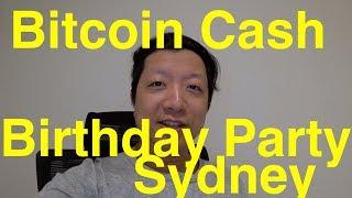 Happy Birthday Bitcoin Cash
