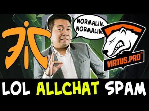 LOL 1205 level TI8 Compendium ALLCHAT — Fnatic vs VP