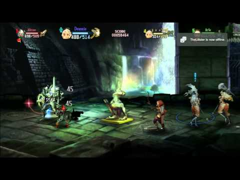Dragon's Crown PS3 HD Gameplay Compilation