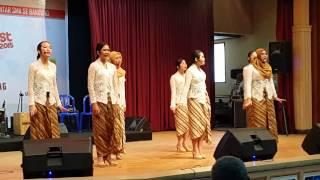 Vocal Grup SMAN 1 Bandung : Minah Gadis Dusun