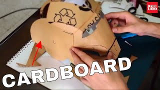 #11: Iron Man Mark 4 Helmet Part 1 - Cardboard, Cut & Glue (Template) | How To | Dali DIY