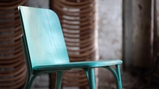 Arik Levy Uses Bent Wood For The First Time In His Split Chair For Ton
