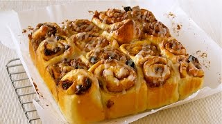 Tear 'n' Share Cinnamon Rolls シナモンロール ちぎりパンの作り方 - Ochikeron - Create Eat Happy