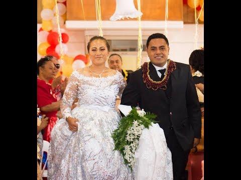 Taufa'ila & Lupeni - Mr & Mrs 'Ufi Wedding Reception - Tonga