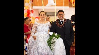 Taufa'ila & Lupeni - Mr & Mrs 'Ufi Wedding Reception - Tonga