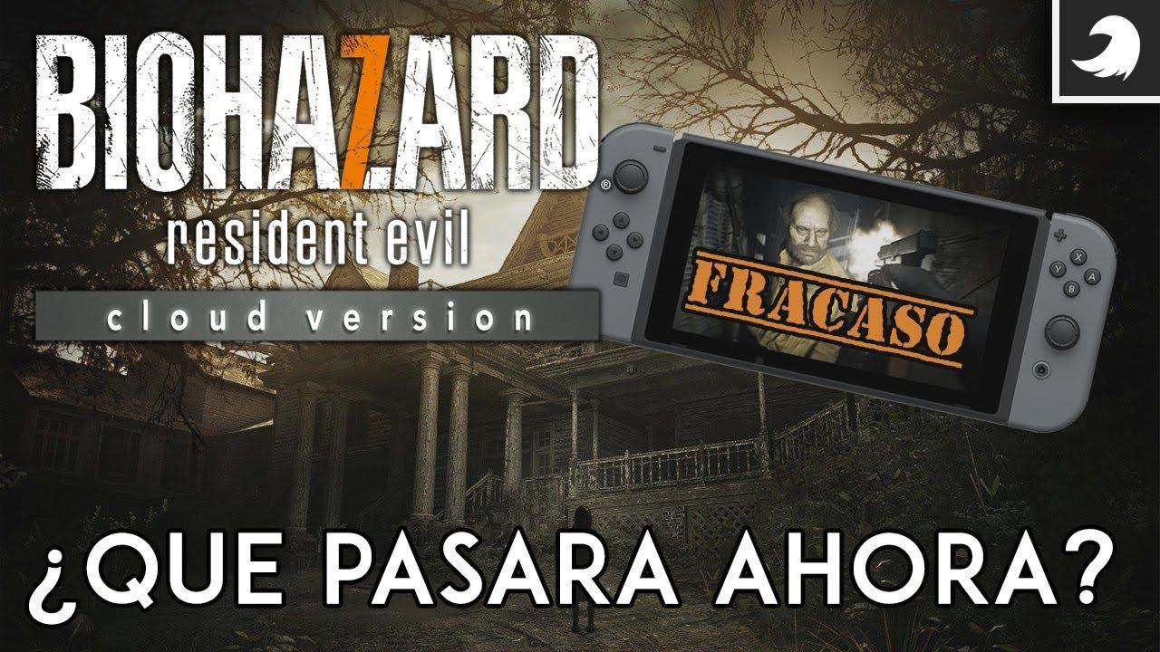 Capcom FRACASA en Nintendo Switch con Resident Evil 7 Cloud Version  | Tocby