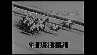 Horse Racing Monmouth, N.J 221625-07 | Footage Farm