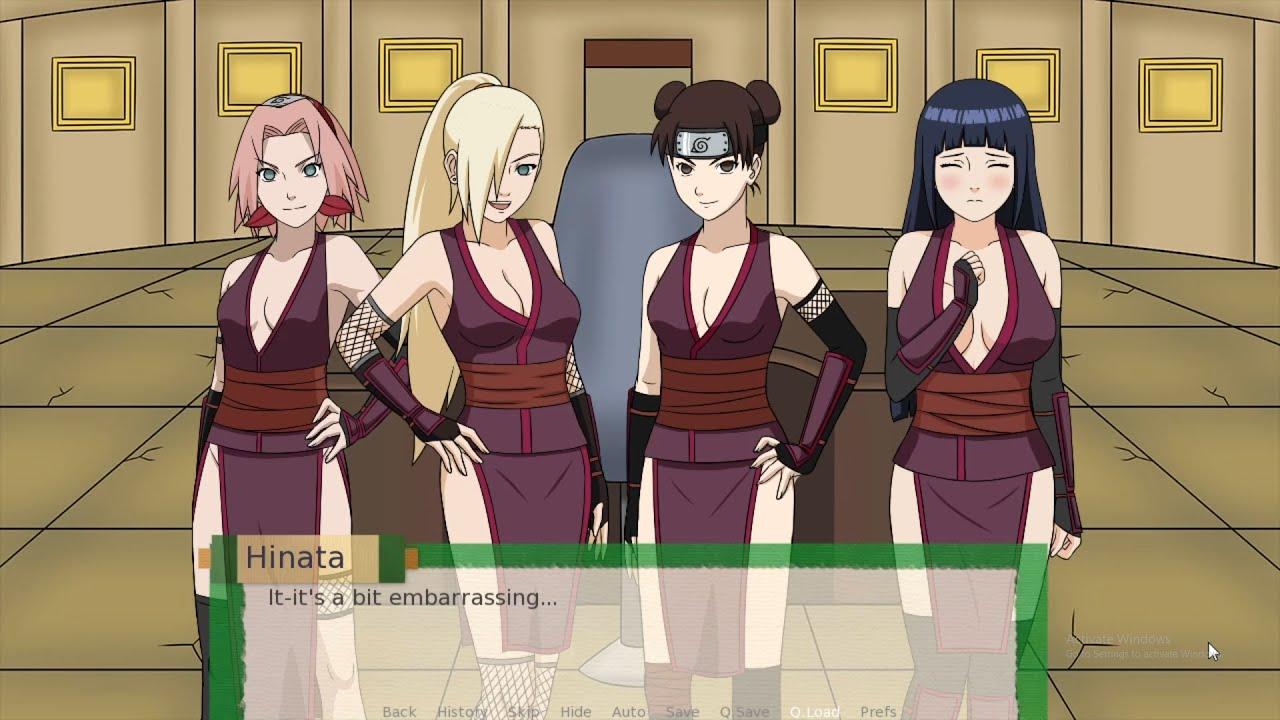 Jikage Rising : Naruto (v1.09a) PC&Android Gameplay 🔞 - YouTube