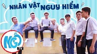 Phim Hài Học Đường Dậy Sóng Mùa 2 (Tập 4) - Nhân Vật Nguy Hiểm [ NgốTV]
