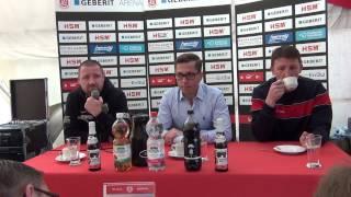 Pressekonferenz SC Pfullendorf - Wormatia Worms