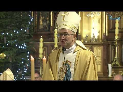 Słowo bp Adriana Galbasa SAC / Święcenia Biskupie, 11.01.2020 (Ełk)