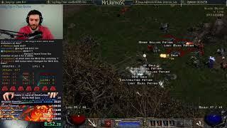[PB] Diablo 2 - Hell Sorceress SC Speedrun  - 4:35:02