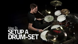 �������� ���� How To Setup A Drum Set! - Tips & Tricks - Behind My Setup ������