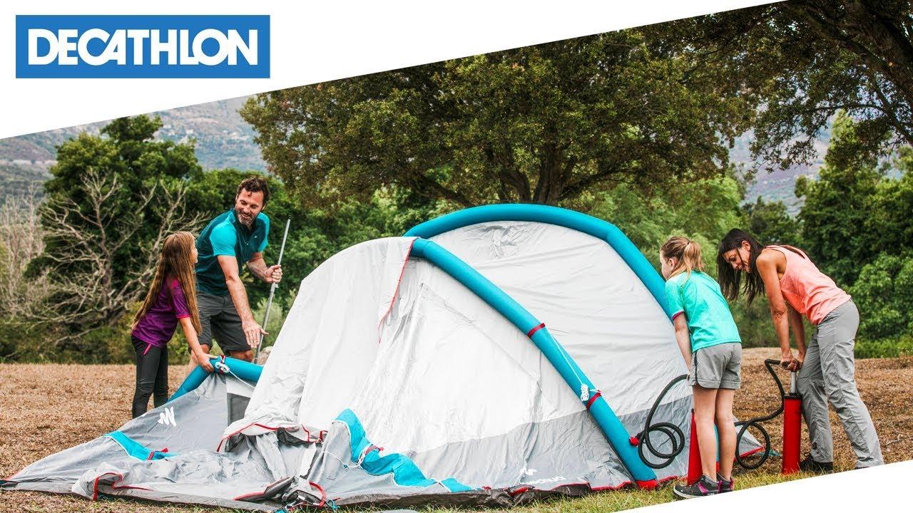 Come Montare La Tenda Da Campeggio 4 Posti Air Seconds Family 4 1 Xl
