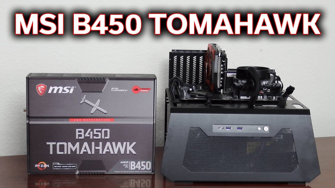 MSI B450 Tomahawk - Review