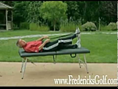 Hamstring Test and Stretches for Golf