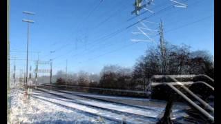 Züge im Winter, Gleismesszug Bad Oldesloe 06.12.2012