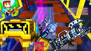 Pixel Gun 3D - First Time with Tomianom GUN in Battle Royale screenshot 5