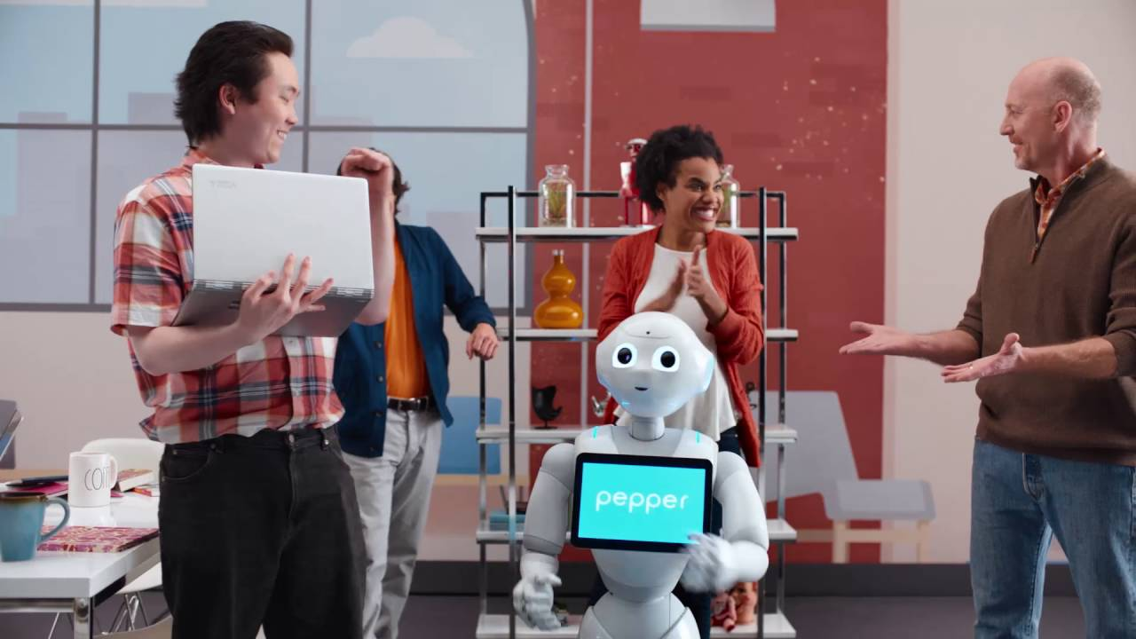 Meet Pepper, the Robot Who's Coming to America as an In