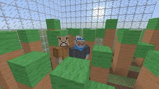Minecraft XBOX Hide and seek - Easter map W/ LionMaker and friends!