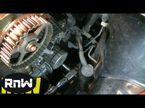 2003 honda civic belt diagram automatic door lock wiring 1 7l sohc timing tensioner water pump replacement part 3