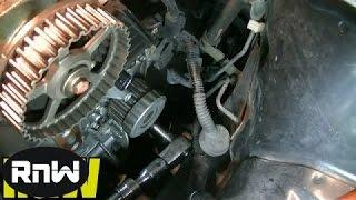Honda Civic 1.7L SOHC Timing Belt, Tensioner, Water Pump Replacement Part 3