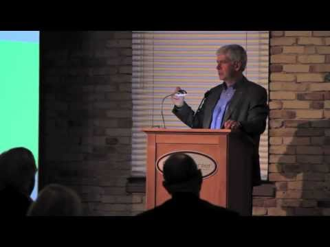 Governor Rick Snyder at 2013 Grand Rapids Business Journal 40 Under Forty