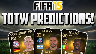 FIFA 15 TOTW 33 Predictions! - Ft. IF Lavezzi, IF Schweinsteiger, IF N