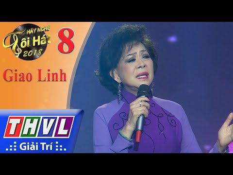 THVL | Hãy Nghe Tôi Hát Mùa 3 – Tập 8[8]: Đom Đóm - Giao Linh
