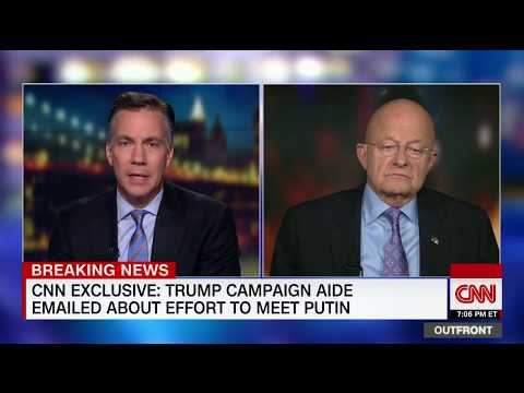 Clapper: I found Trump's rally disturbing (full interview)