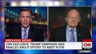 Clapper: I found Trump's rally disturbing (full interview)