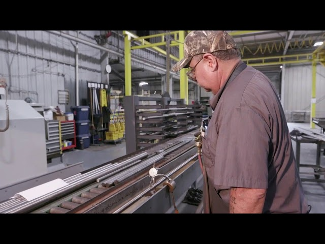Vertical Turbine Shaft Straightening