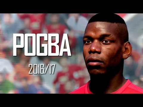 Paul Pogba 2016/17 Goals Remade On FIFA 17 🔥