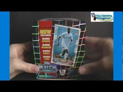 Opening a Box of Topps Match Attax 2011 / 2012 Trading Card Game Packs (Part 1)