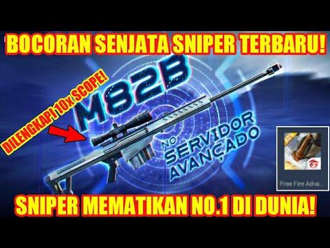 Bocoran Senjata Baru M82b Sniper Dengan Scope 10x Garena Free Fire Youtube