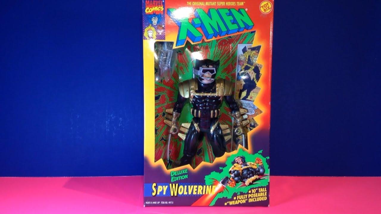 Kids Toys Action Figure: Rare Vintage X-Men Spy Wolverine Figure! Toy Biz Marvel