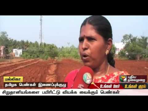 Women promote millet foods, earn money in Salem | Special re