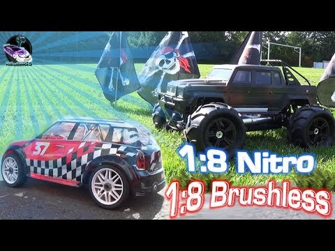 1:8 Brushless & Nitro GP Ice Land / Thunder Tiger Mini Cooper