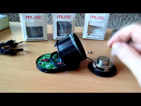 Disassembly and repair Super Bass Bluetooth speaker DG530(S10,S11)