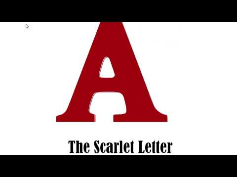 How to study/learn The Scarlet Letter written by Nathaniel Hawthorne at a classroom in easy English?