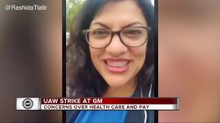 Day two of UAW strike at GM