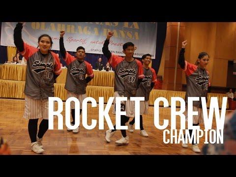 NATIONAL DANCE CHAMPIONSHIP (HIP HOP)   Champion   ROCKET CREW