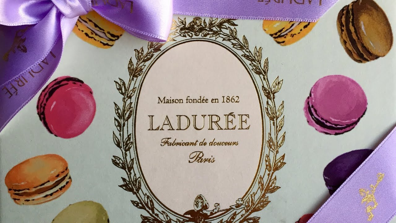 Laduree Macaron Recipe Book Unboxing And Review
