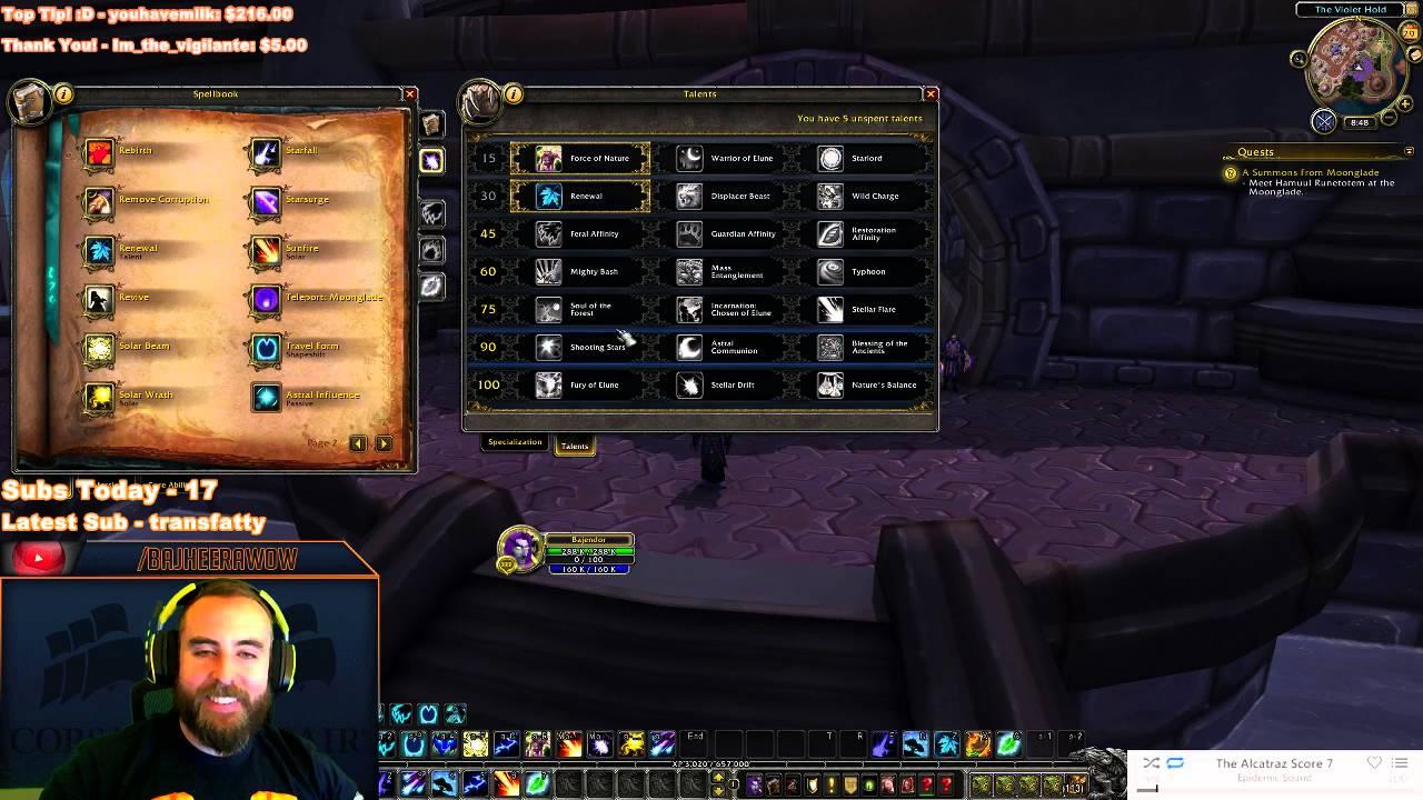 WoW: Legion (Alpha) - BALANCE DRUID Abilities & Talents Overview
