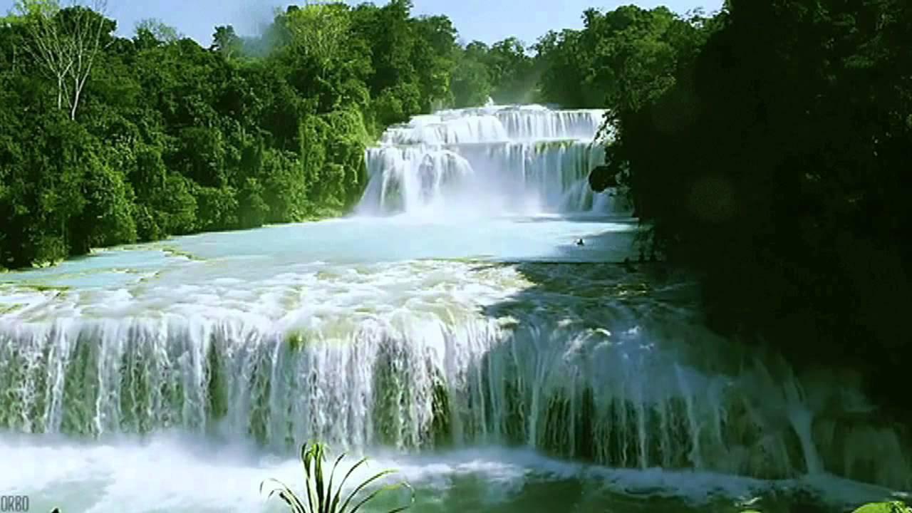 Анимация с водопадами