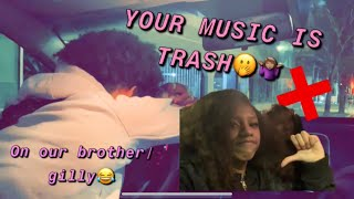 Baixar YOUR MUSIC IS TRASH..Prank on Gilly { HE GOT SO MAD !}