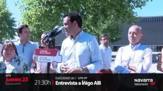 PROMOCIÓN ENTREVISTA A ÍÑIGO ALLI - NAVARRA TELEVISIÓN
